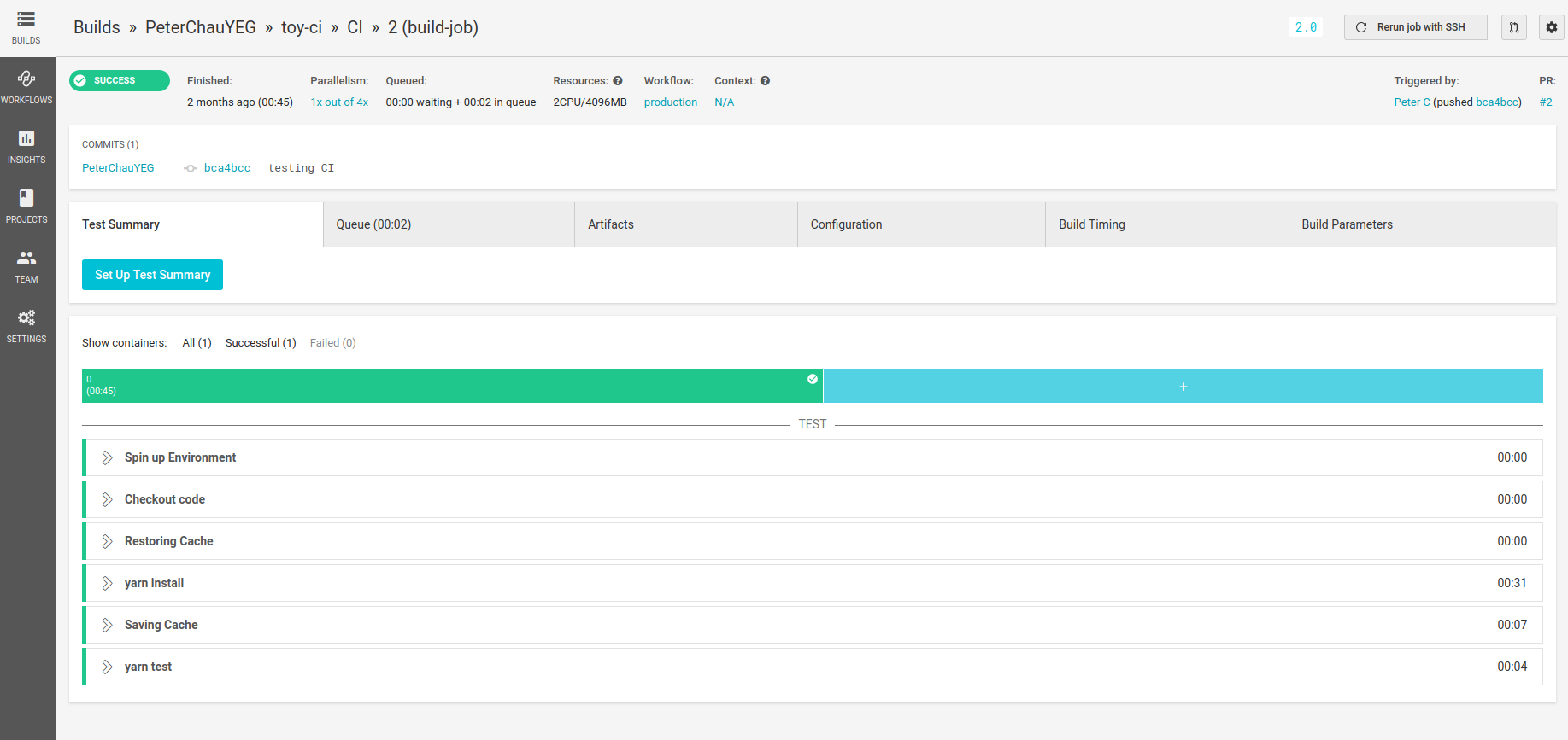 Continuous Integration and Deployment for Static Web Apps