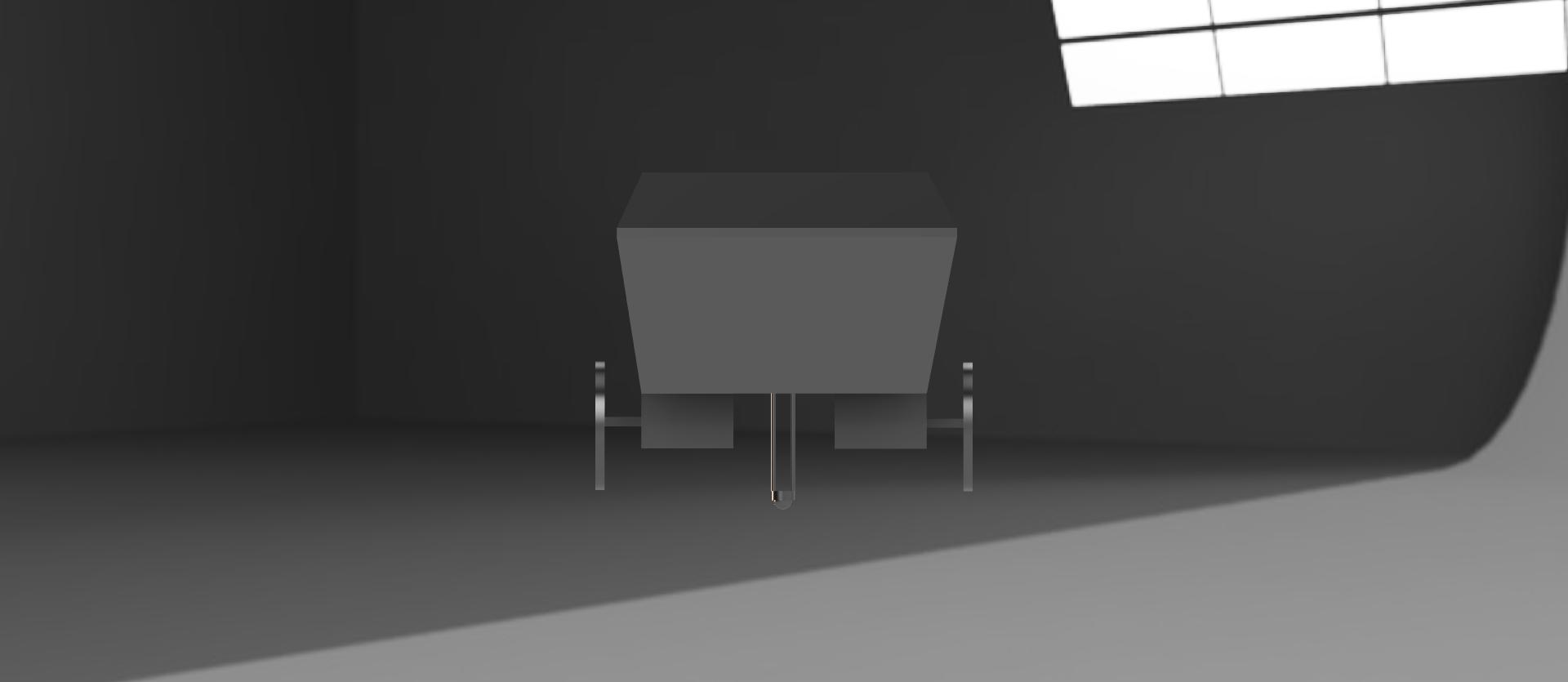 Rendered CAD Model - Back