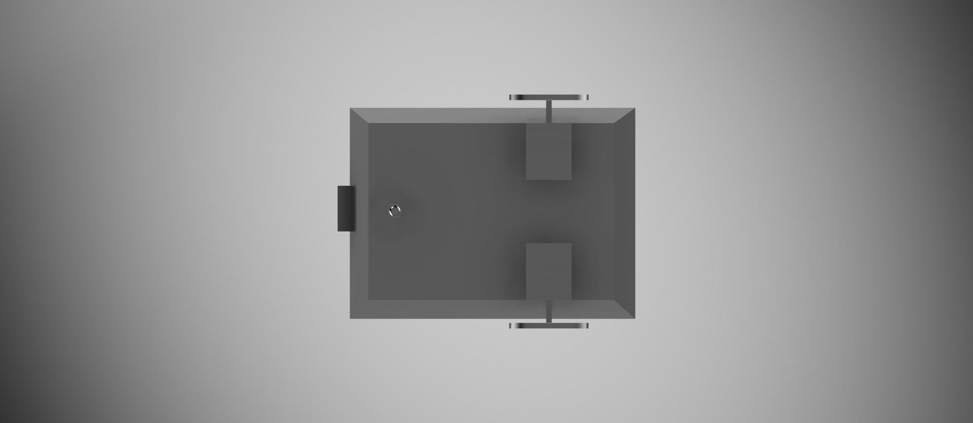 Rendered CAD Model - Bottom