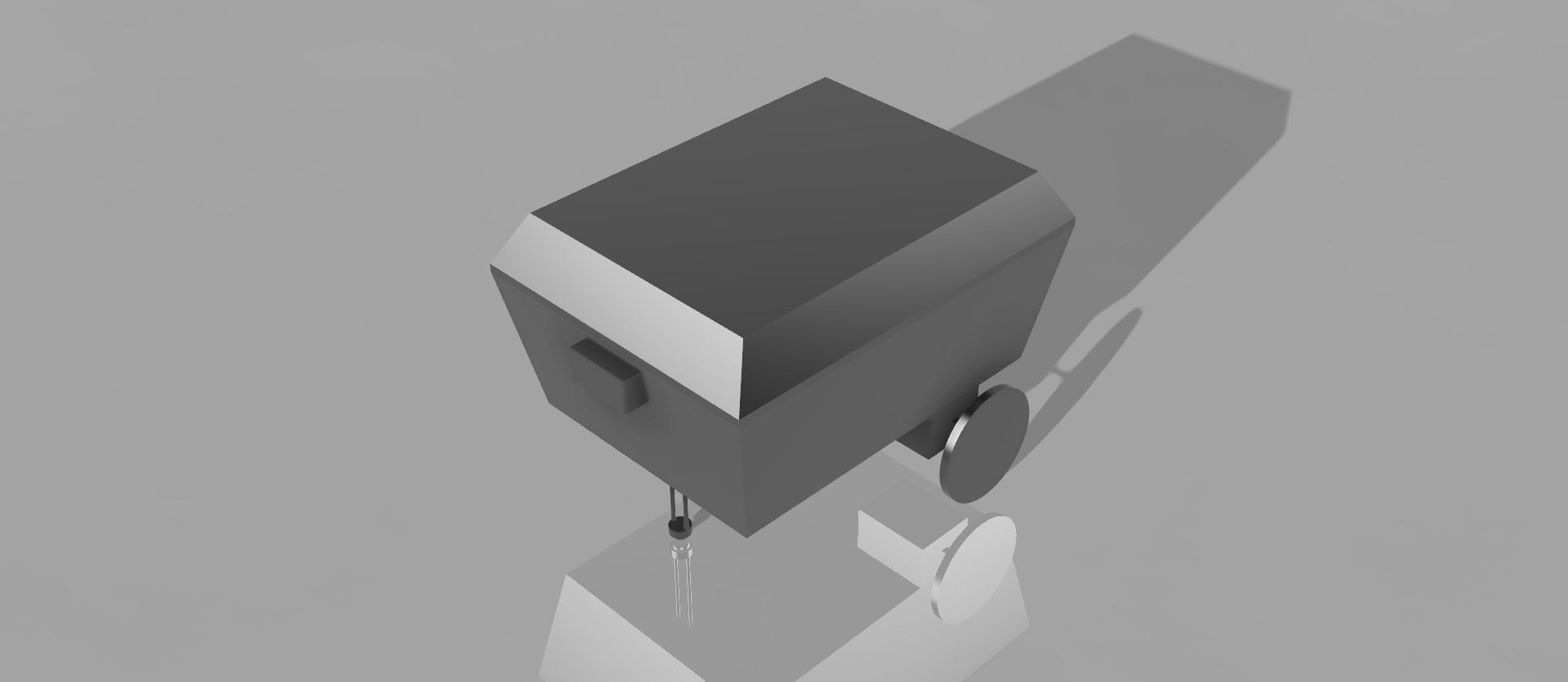 Rendered CAD Model - Home