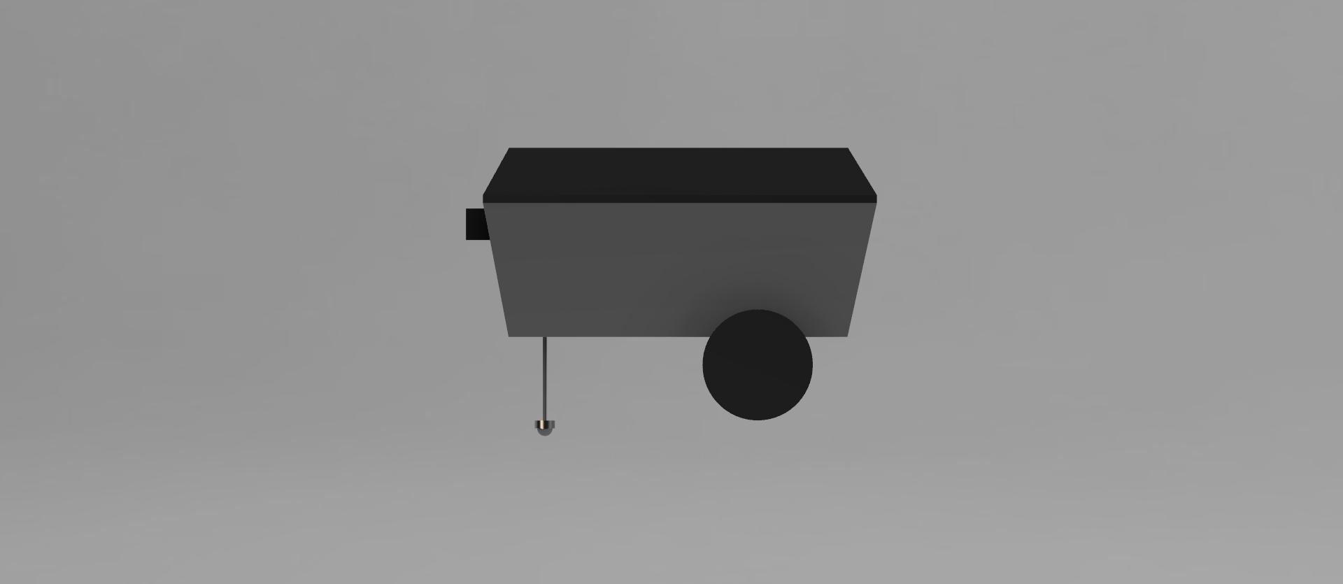 Rendered CAD Model - Side