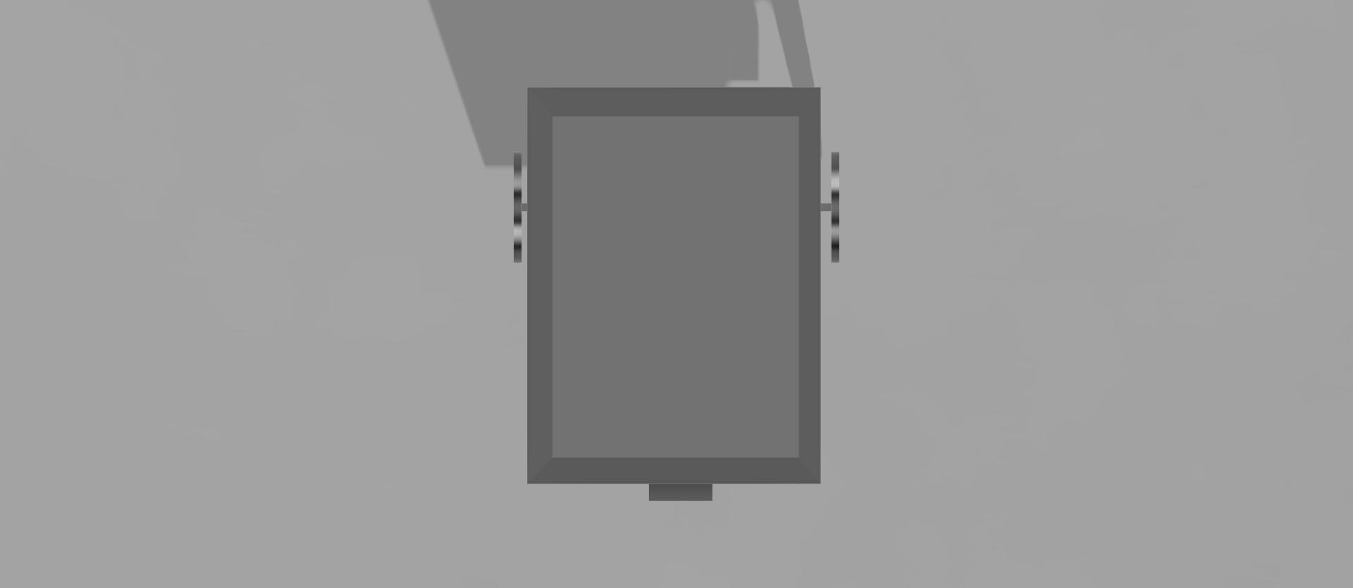 Rendered CAD Model - Top