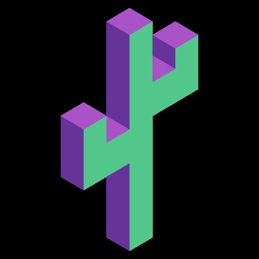 Gatsby Theme Cactus logo