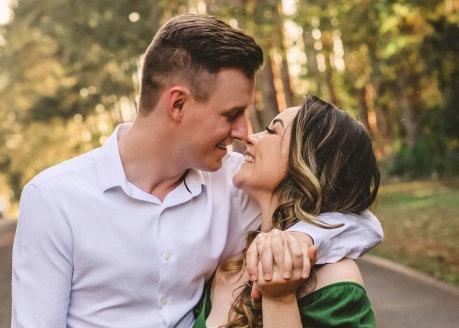 grow relationship happy couple
