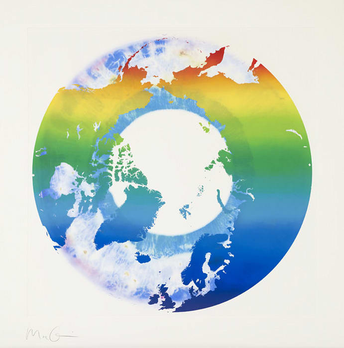 Eye of History (Untitled 03) by Marc Quinn