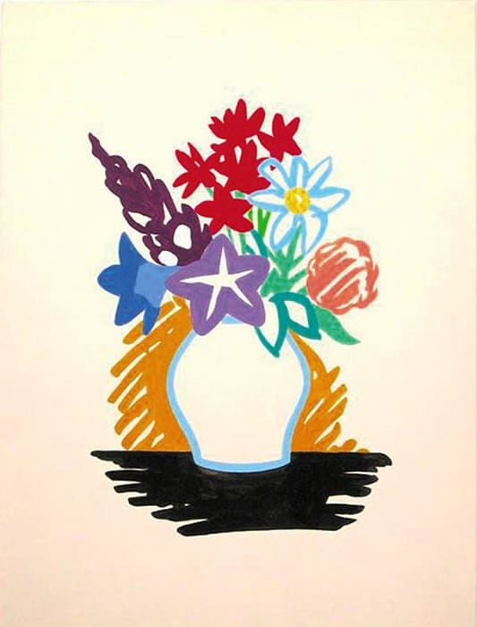 Study for Mixed Bouquet by Tom Wesselmann