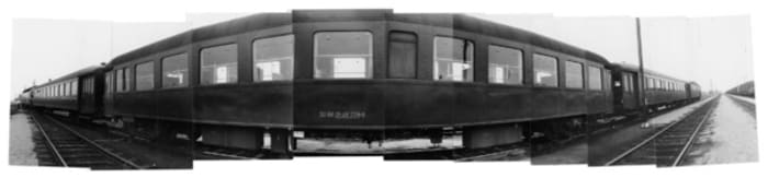 Zug / Train by VALIE EXPORT