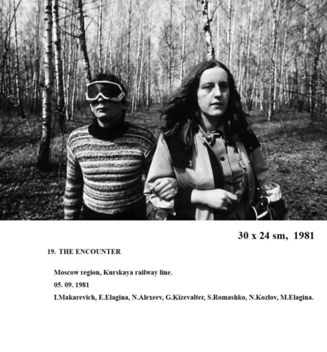 The Encounter by Andrei Monastyrski