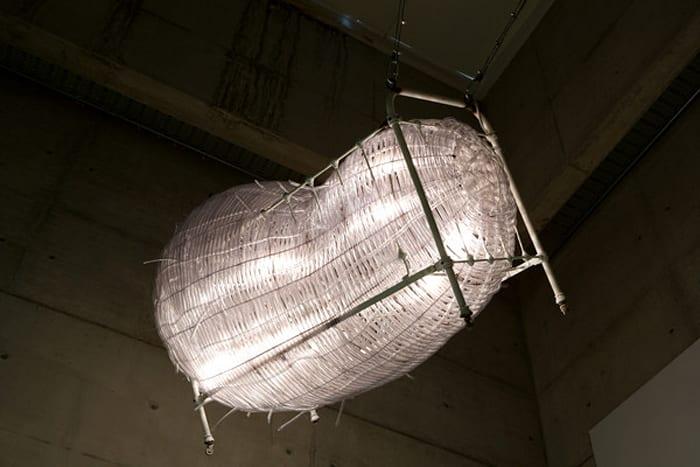 Lumière innocente by Chen Zhen