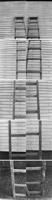 Leiter III / Ladder III by VALIE EXPORT