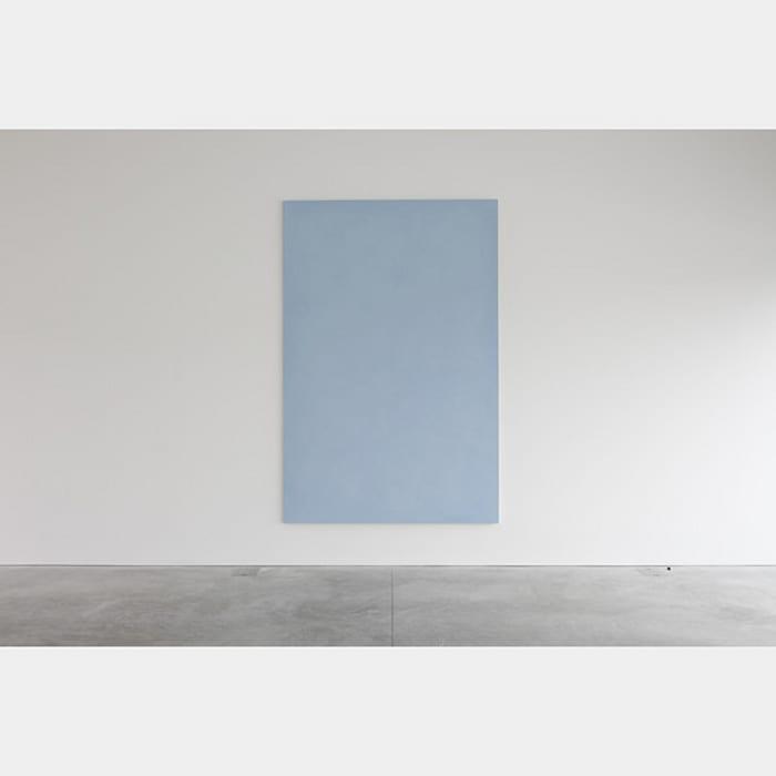 Sia o no così, azzurro by Ettore Spalletti