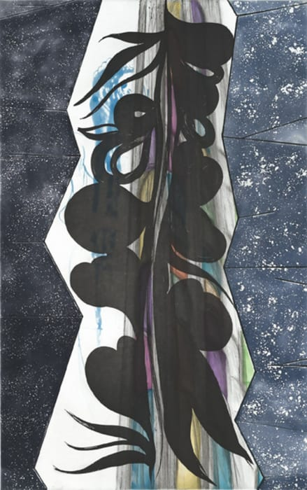 Rincon Falls-Black Leaf by Chris Ofili