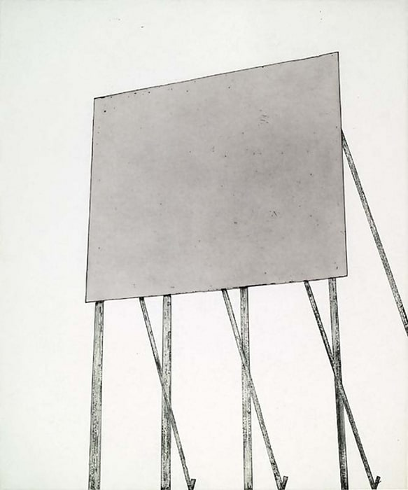 Your Space #2 by Edward (Ed) Ruscha
