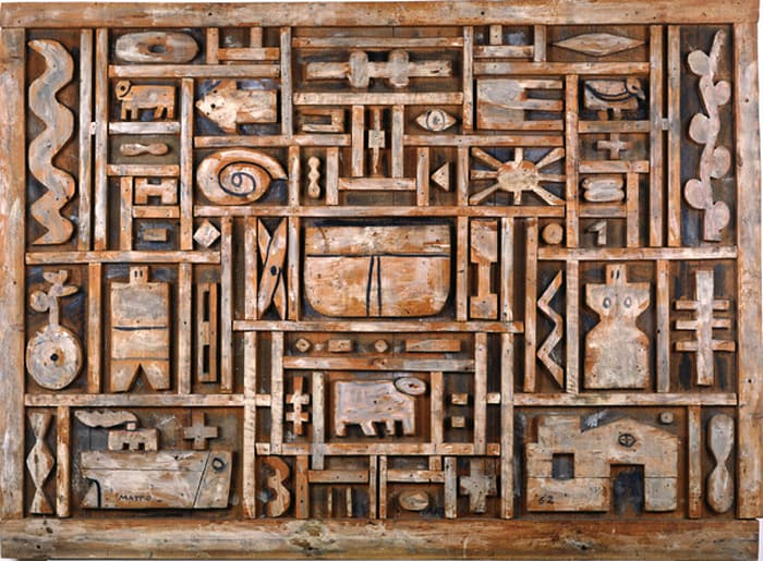 Wood Construction by Francisco Matto
