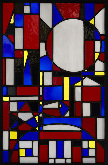 Vitral (Stained Glass) by Joaquin Torres Garcia