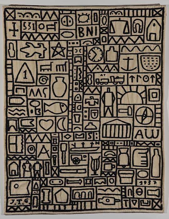 Tapiz (Tapestry) by Joaquin Torres Garcia