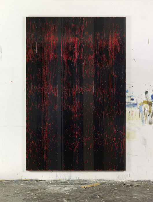 ...sensing that storm (P.G. Red Rain) by Gregor Hildebrandt