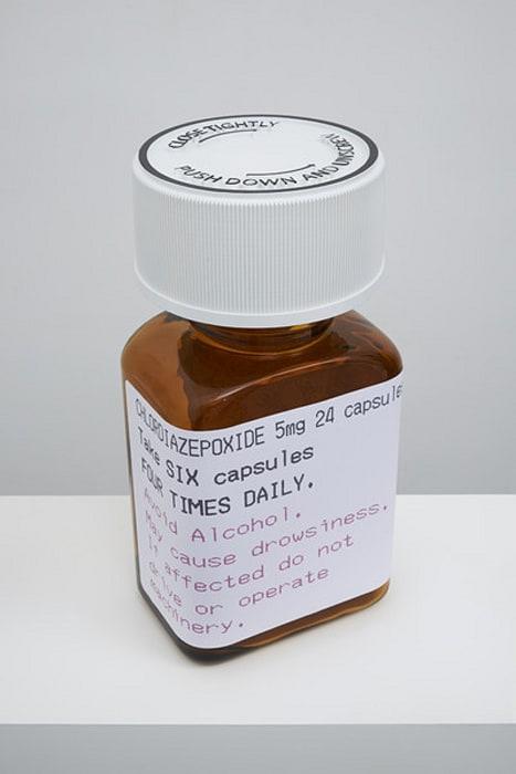 Chlordiazepoxide 5mg 24 capsules by Damien Hirst