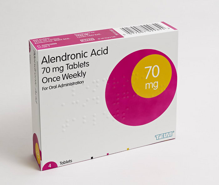 Alendronic Acid 70mg Tablets by Damien Hirst