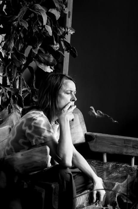SARAH SMOKING 2014 by Julian Simmons