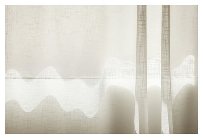 ... and to draw a bright white line with light (Untitled 11.3) by Uta Barth