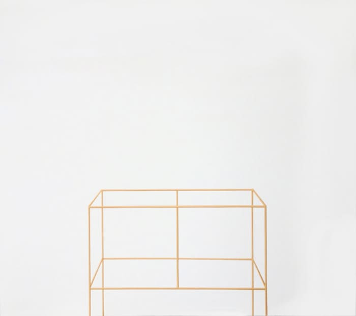 Untitled (wood structure) by Valdirlei Dias Nunes