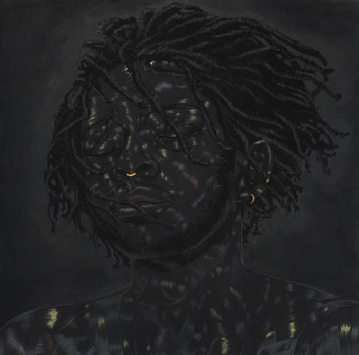 What You Think You See by Toyin Odutola