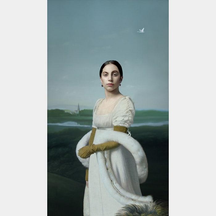 Lady Gaga: Mademoiselle Caroline Riviere by Robert Wilson