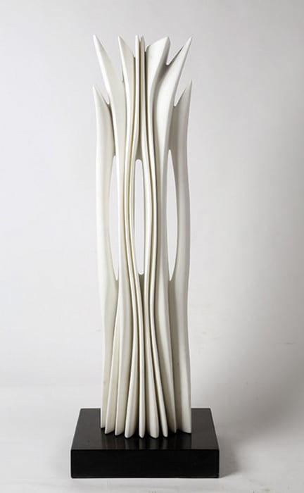 Carrara marble by Pablo Atchugarry