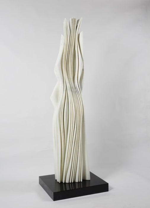 Statuary carrara marble by Pablo Atchugarry
