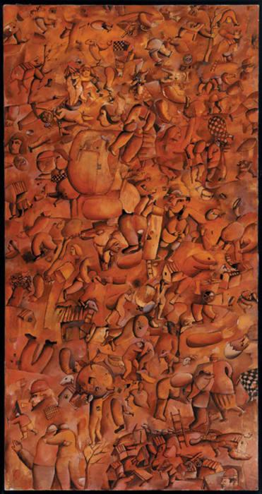 Composición con pecados capitales by José Gurvich