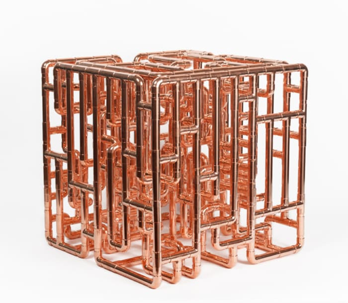 Conduit Cell for the Elevation of Harmonic Alignment & Geometric Healing - Model II by Steven Shearer