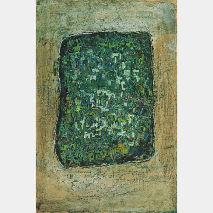 Green Stone Tablet by George Chann