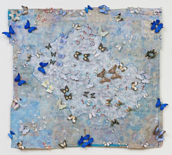 All Souls (Plateau des Petrels) by Jane Hammond