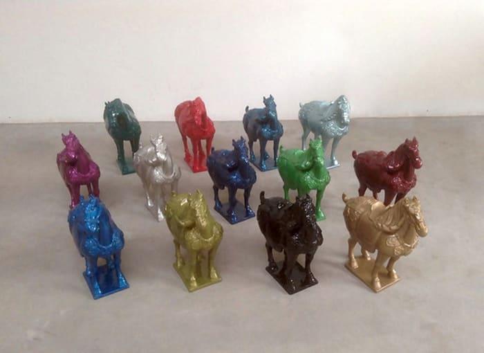 Horse by Ai Weiwei