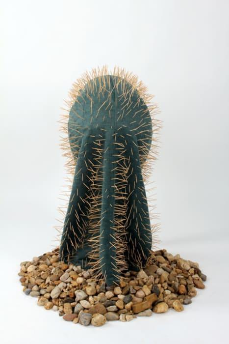 Human Cactus by Nezaket Ekici