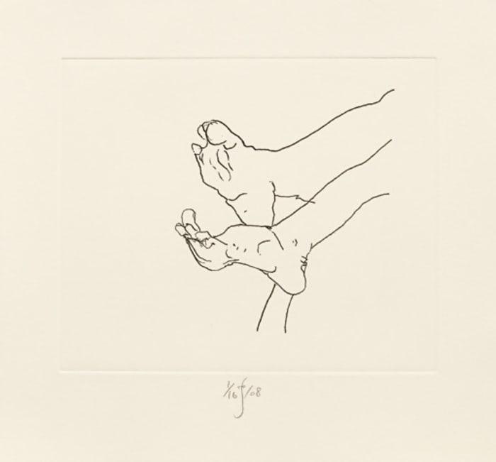 Feet by Barry Flanagan
