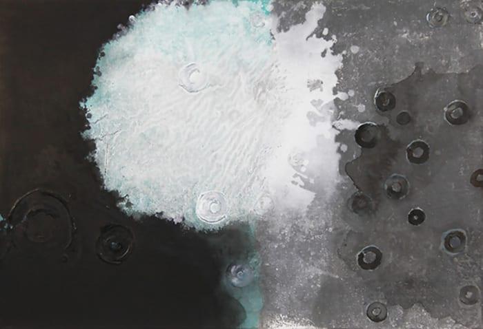 Rain Drops onto an Ink Pond by Jian-Jun Zhang