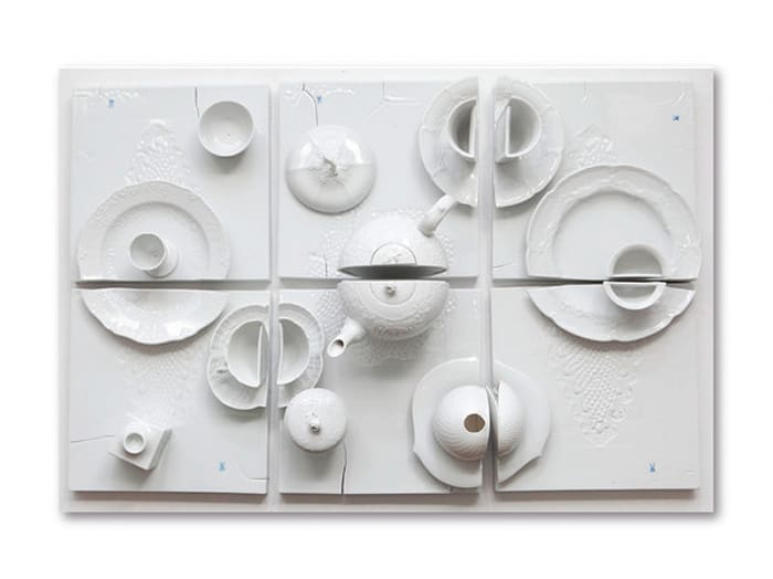 Kleiner Tisch III by Daniel Spoerri