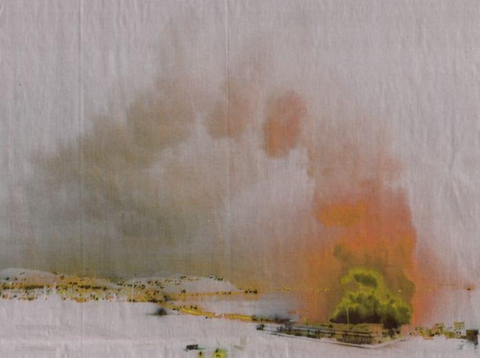 Paysage 8 by Ursula Mumenthaler