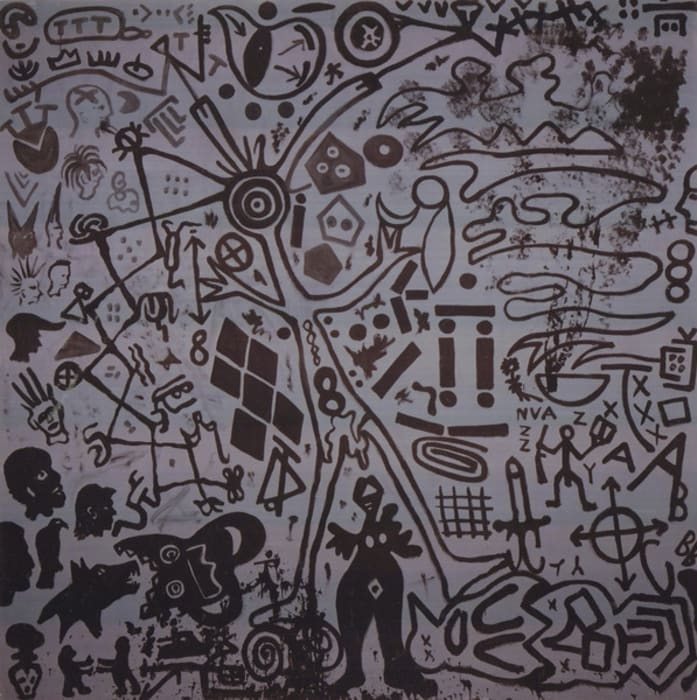 Soldier's Vision by A.R. Penck