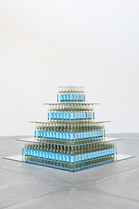 Non - alcoholic  vodka tower by Superflex