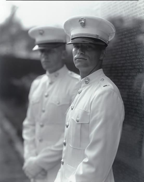 Untitled, from Portraits at the Vietnam Veterans Memorial, Washington, D.C., 1983/84 by Judith Joy Ross