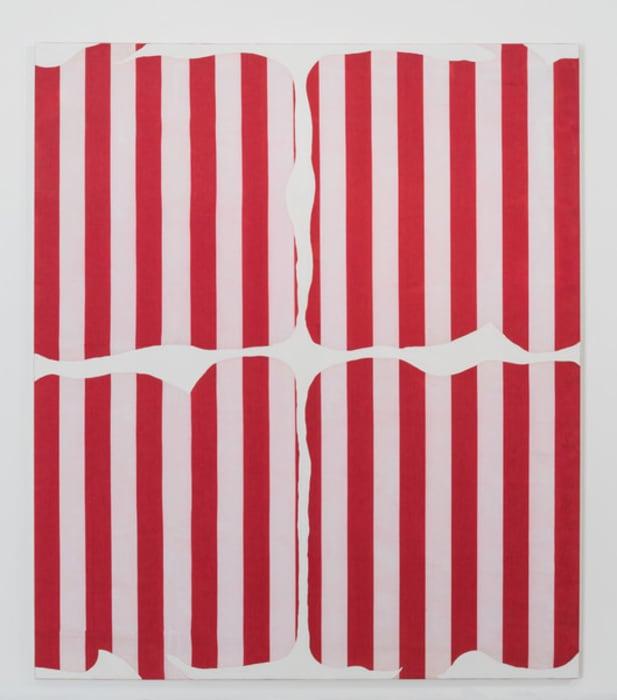 Peinture aux formes variables by Daniel Buren
