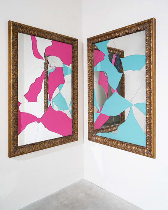 Two Less One colored by Michelangelo Pistoletto