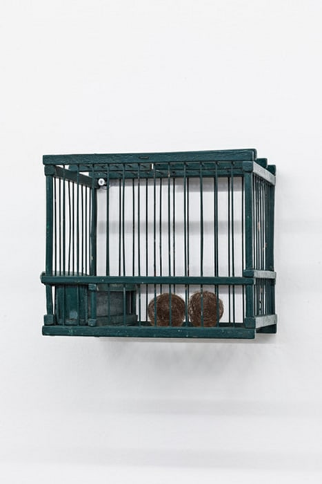 Green Cage by Mona Hatoum