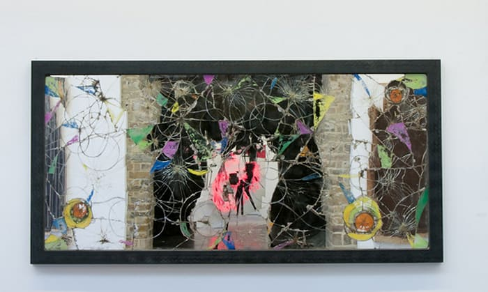 Dirty Mirrors by Pascale Marthine Tayou
