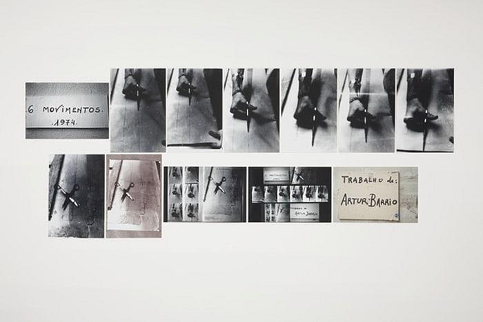 6 movimentos by Artur Barrio
