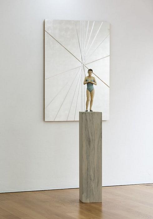 Frau im Korsett by Stephan Balkenhol
