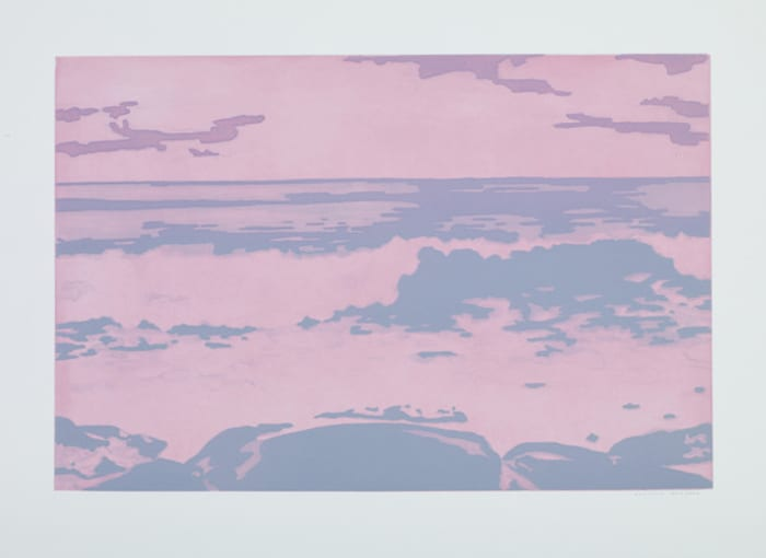Mato, Onda, e Abstrato (Forest, Wave and Abstract) (Untitled 06) by Rodrigo Andrade